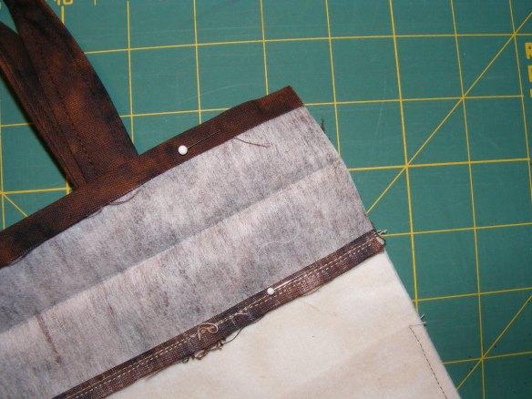 Pin, carefully matching edges and seams.